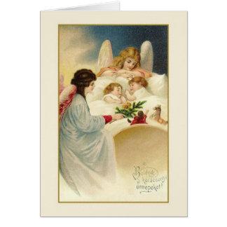 Cartão de Natal de Karácsonyi do Hungarian do