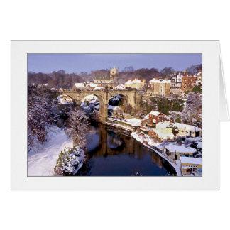 Cartão de Natal de Knaresborough