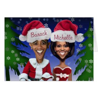 Cartão de Natal de Obama