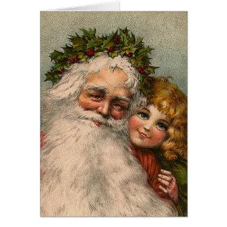 "Cartão de Natal de ""Papai Noel"""