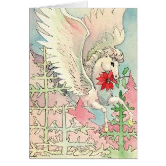 Cartão de Natal de Pegasus