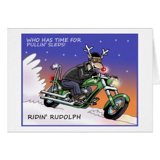 Cartão de Natal de Ridin