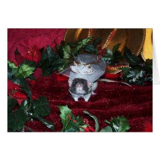 Cartão de Natal de Rudyard
