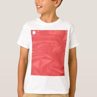 Cartão de Natal de seda Camiseta