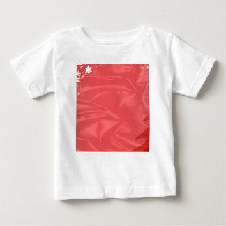 Cartão de Natal de seda Camiseta Para Bebê