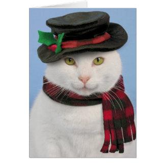 Cartão de Natal de Snowcat