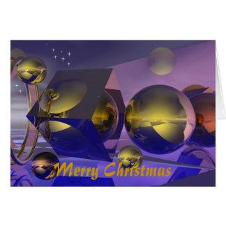 Cartão de Natal diferente