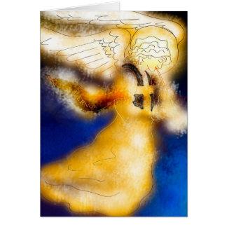 Cartão de Natal do anjo de Kernow
