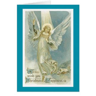 Cartão de Natal do anjo do Natal