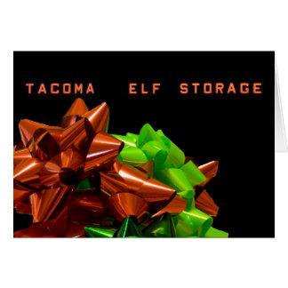 Cartão de Natal do armazenamento #1 do duende