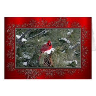 Cartão de Natal do cardeal 3093