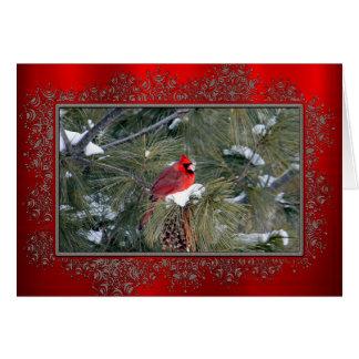 Cartão de Natal do cardeal 3097