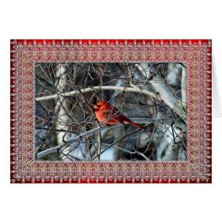 Cartão de Natal do cardeal 3926