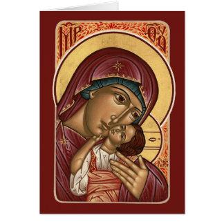 Cartão de Natal do ícone