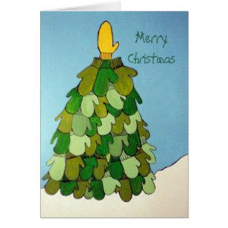Cartão de Natal do mitene
