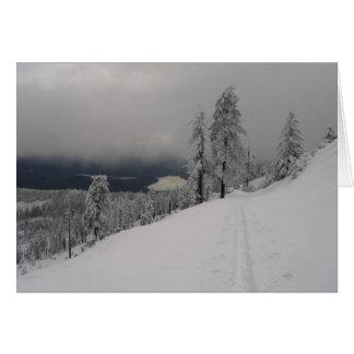 Cartão de Natal do Mt. da casca