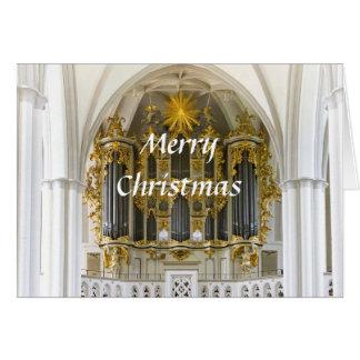 Cartão de Natal do órgão de Berlim