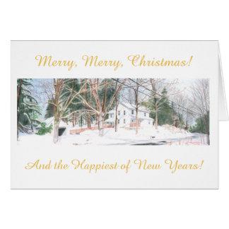 Cartão de Natal do país