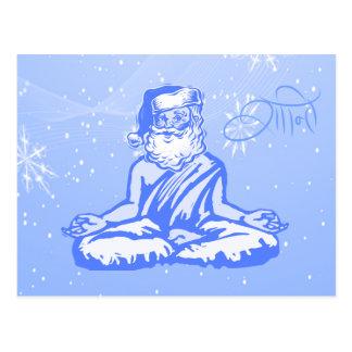 Cartão de Natal do papai noel da paz (Shanti)