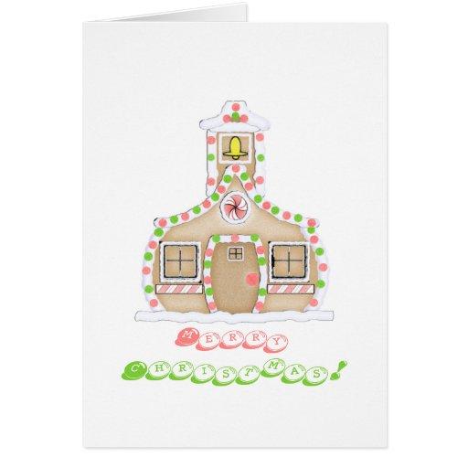Cartão de Natal do professor