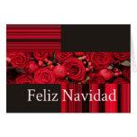 Cartão de Natal espanhol de Feliz Navidad