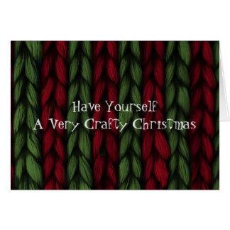 Cartão de Natal esperto