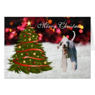 Cartão de Natal feito sob encomenda da árvore do