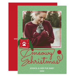 Cartão de Natal feito sob encomenda do feriado da