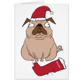 Cartão de Natal feito sob encomenda engraçado do