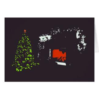 Cartão de Natal Home