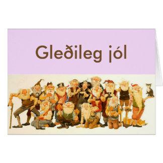 Cartão de Natal islandês