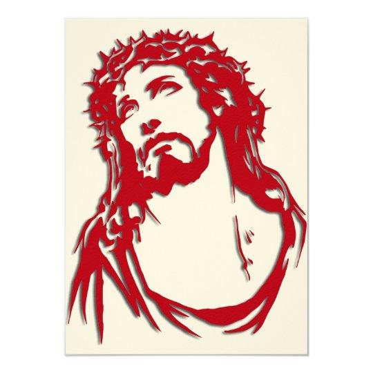"""Cartão de Natal """"JESUS"""""""