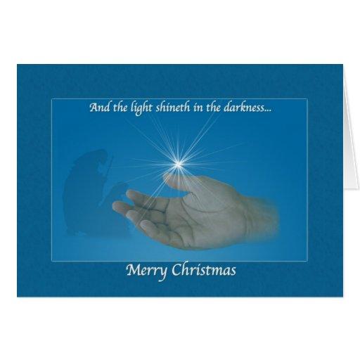 Cartão de Natal, natividade, estrela, religiosa