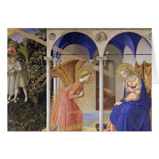 Cartão de Natal: O aviso por Fra Angelico
