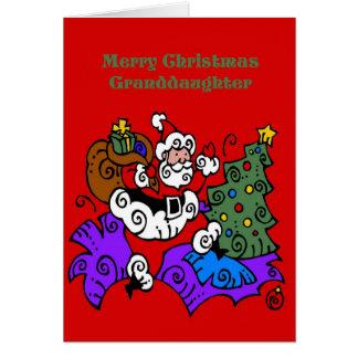 Cartão de Natal para a neta