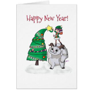 Cartão de Natal para amantes do Vainglory