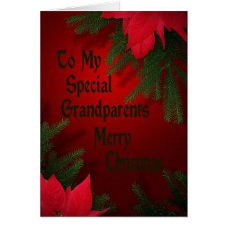Cartão de Natal para avós