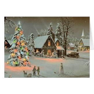 Cartão de Natal para um amigo