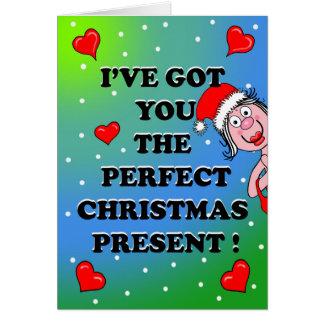 Cartão de Natal picante