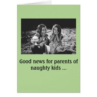 Cartão de Natal -- protuberâncias de obrigados de