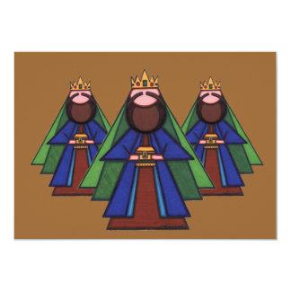 Cartão de Natal religioso Convite 12.7 X 17.78cm