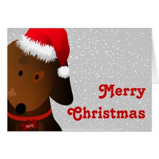 Cartão de Natal rochoso
