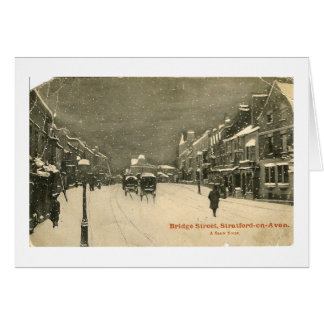 Cartão de Natal, Stratford-em cima-Avon