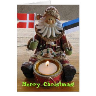 Cartão de Natal super do Lux!