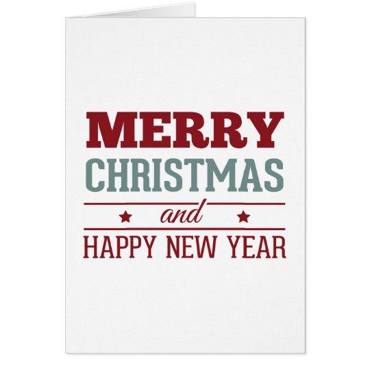 Cartão de Natal Super Feliz