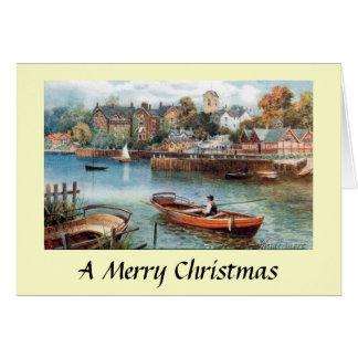 Cartão de Natal - Windermere, Cumbria
