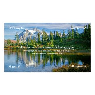 Cartão de negócio cartão de visita