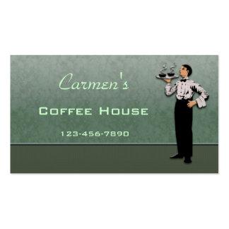 Cartão de negócio da restauração cartão de visita