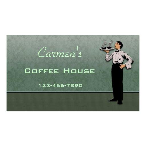 Cartão de negócio da restauração cartao de visita