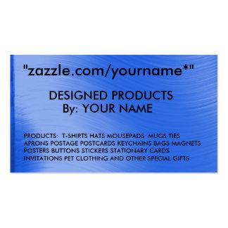 """CARTÃO de NEGÓCIO zazzle.com/yourname* de ZAZZLE """" Cartão De Visita"""